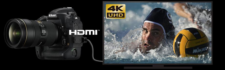 HDMI TV 연결 이미지
